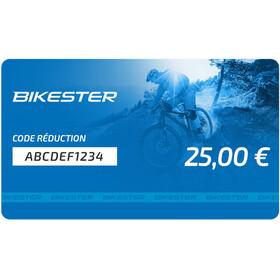 Bikester chéque cadeau - 25 €
